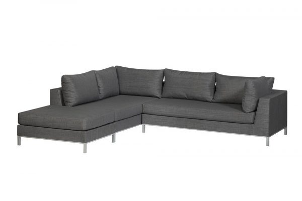 Exotan Sicilië loungeset links mixed grey