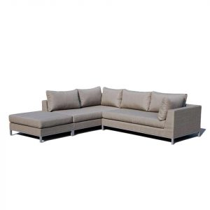 Exotan Sicilië loungeset links taupe