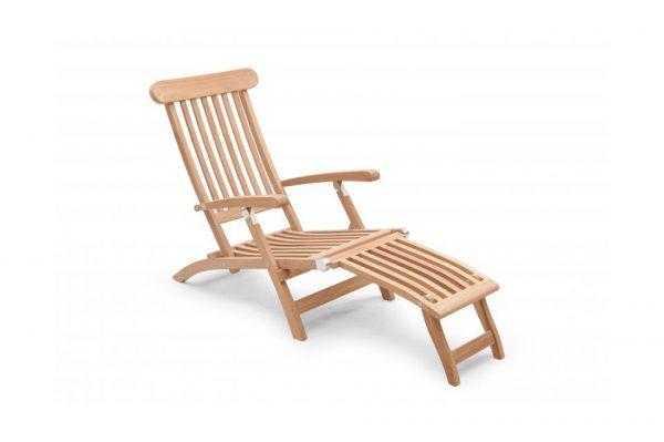 Teak deckchair Oxford