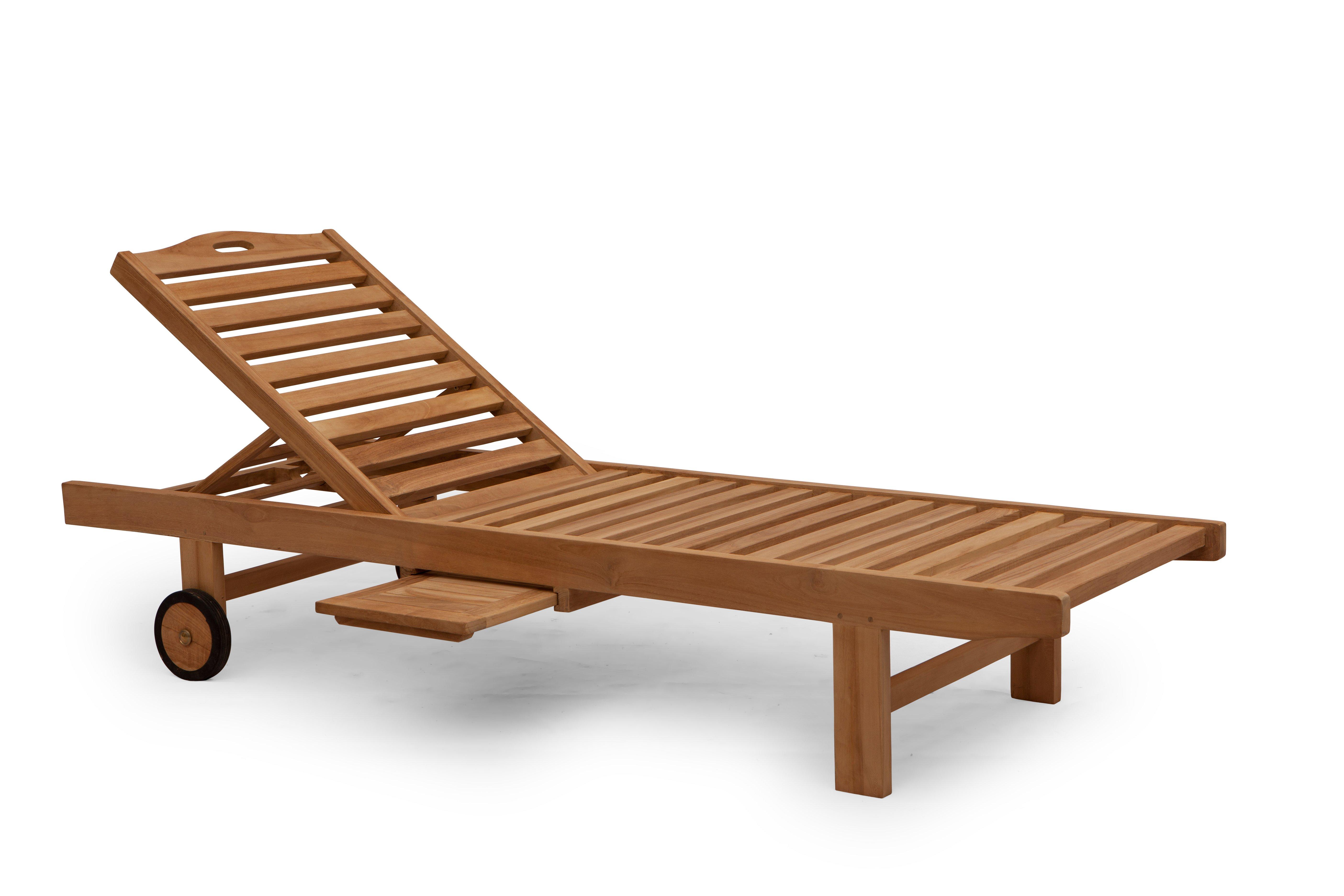 Ligbed Tuin Aanbiedingen : Teak ligbedden een mooie houten ligbed voor in de tuin