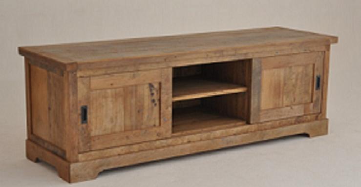 Tv Meubel Teakhout : Tv meubel basic in teak meubels in teak van alfateak