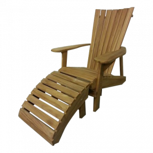 Teak Adirondack Bear Chair set van 2
