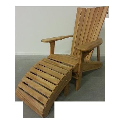 Adirondack Bear Chair Teak