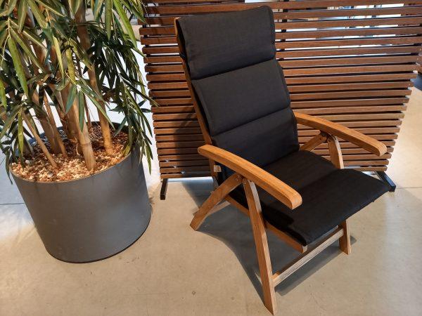 Caldo verstelbare stoel met slingkussen