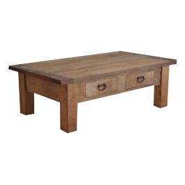 Teakhouten salontafel Koeno 120 * 70 cm