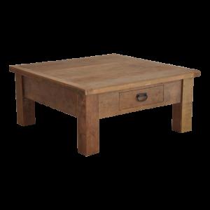 Teakhouten salontafel Koeno 80 * 80 cm