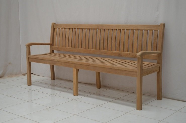Teak tuinbank Cambridge 200 cm