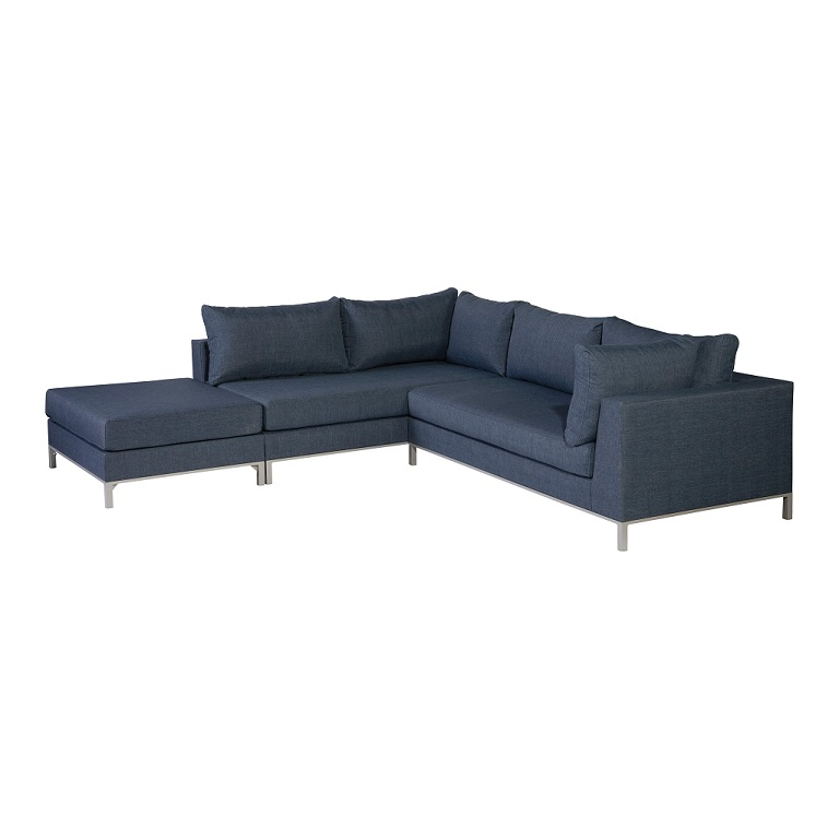 Awe Inspiring Exotan Sicilie Loungeset Links Jeans Blue Teak Nl Unemploymentrelief Wooden Chair Designs For Living Room Unemploymentrelieforg
