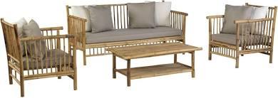 Exotan Bamboo loungeset