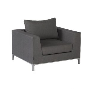 Exotan Sicilië loungestoel stone grey