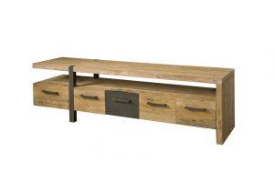 Teak tv meubel Lucca 190 cm 5 laden
