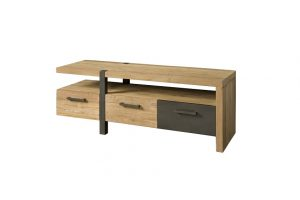 Teak tv meubel Lucca 145 cm 3 laden