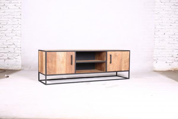 Metal teak tv meubel150 cm Banjar