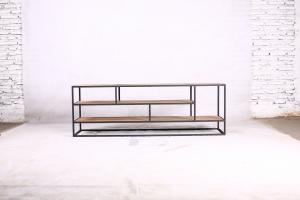 Metal teak tv meubel Banjar open 150 cm