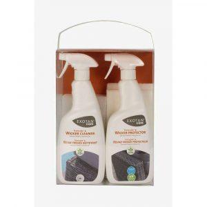 Exotan Textilene en Wicker Onderhoudsset Cleaner en Protector