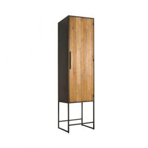 Felino Teak Kast rechts 1 deur 60cm
