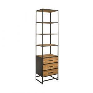 Felino Teak Boekenkast 3 lades 60cm
