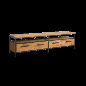 Livorno Teak tv meubel 4 lades 180cm